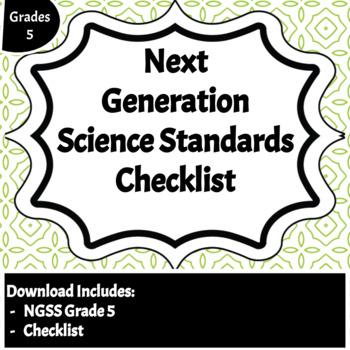 Next Generation Science Standards Checklist