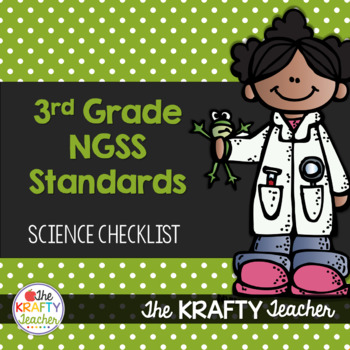 NGSS Checklist for Third Grade Science Standards