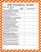 NGSS Checklist for Kindergarten Science Standards