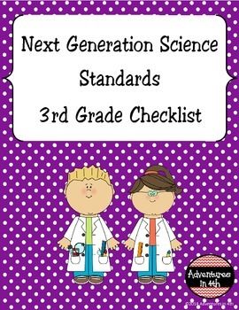Next Generation Science Standards (NGSS) - 3rd Grade