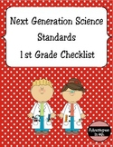Next Generation Science Standards (NGSS) Checklist - 1st Grade