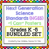 "Next Generation Science Standards (NGSS) ""I Can"" Grades K"