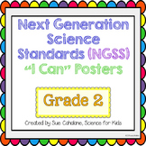 "Next Generation Science Standards (NGSS) ""I Can"" posters for Grade 2"