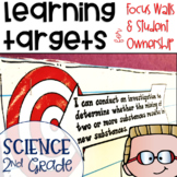 Next Generation Science Standards NGSS Learning Targets for Science 2nd grade