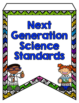 Next Generation Science Standards Pennant Banners - 1st Grade