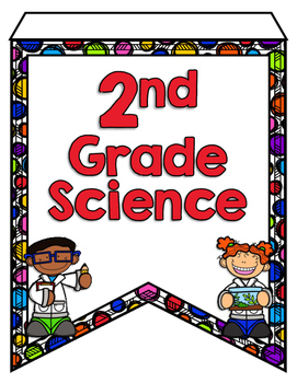 Next Generation Science Standards Pennant Banners - 2nd Grade
