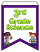 Next Generation Science Standards Pennant Banners 3rd Grad