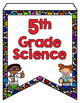 Next Generation Science Standards Pennant Banners 5th Grad
