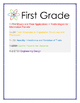 Next Generation Science Standards Science Anchor Charts First Grade