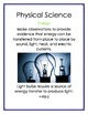 Next Generation Science Standards Science Anchor Charts Fourth Grade