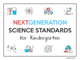 FREE: Next Generation Science Standards (NGSS) Posters for Kindergarten