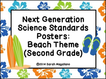 Next Generation Science Standards for Second Grade-Beach Theme