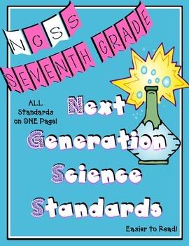 Next Generation Science Standards for Seventh Grade