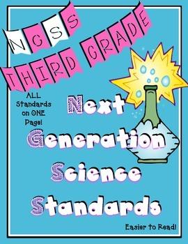 Next Generation Science Standards for Third Grade