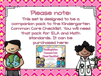 Next Generation Sunshine State Standards for Kindergarten