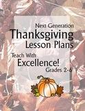 Next Generation Thanksgiving Lesson Plans