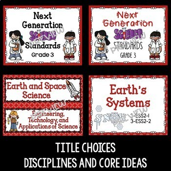 Next Generation Science Standards Poster Bundle for 3-5 (NGSS)