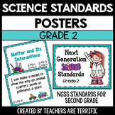 Next Generation Science Standards Posters for 2nd Grade (NGSS)