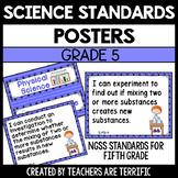 Next Generation Science Standards Posters for 5th Grade (NGSS)