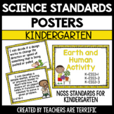 Standards Posters Kindergarten: for Use with Next Generation Science Standards