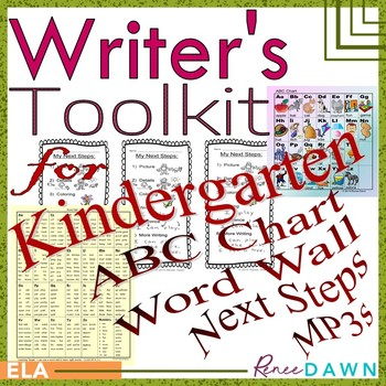 Writer's Toolkit for Kindergarten