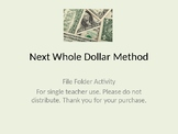 Next Whole Dollar File Folder Activity