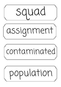 NextGen Unit 1 Mod A Vocabulary: Science Squad