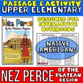 Native Americans: Nez Perce Passage with Activity