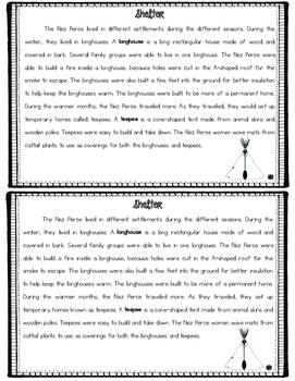 Nez Perce Tribe Mini Book