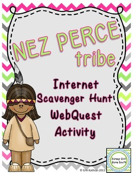 Nez Perce Tribe - Native Americans Internet Scavenger Hunt