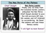 Nez Perce and Chief Joseph