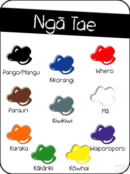 Ngā Tae - Colours - A New Zealand classroom resource
