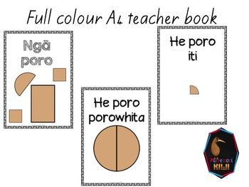 Nga Poro - Te Reo Maori emergent reader