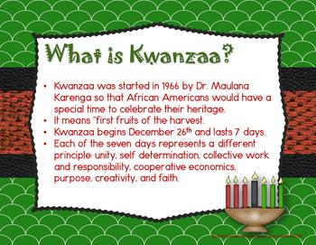 Nguzo Saba - Rhythmic Chant & Orff instrument arrangement for Kwanzaa