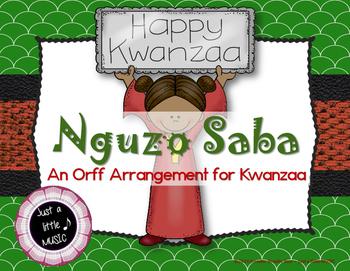 Nguzo Saba - Rhythmic Chant & Orff instrument arrangement