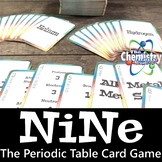 Printable Periodic Table Card Games: Elements 1 - 20