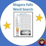 Niagara Falls Word Search