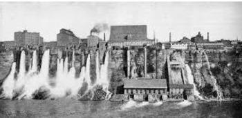 Niagara Falls mini unit - hydroelectricity - QR Code - informational text