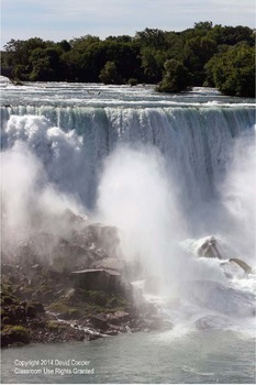 Niagra Falls: Photos For Bulletin Boards and Handouts