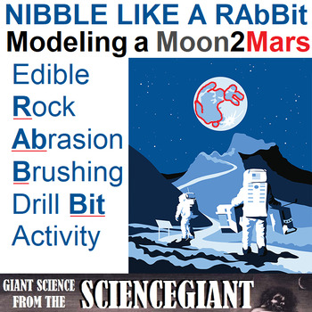 Nibble Like a RAbBit: Edible Model of a Moon to Mars Tool