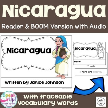 Nicaragua Reader {English Version} & Vocab pages ~ Simplified for Young Learners