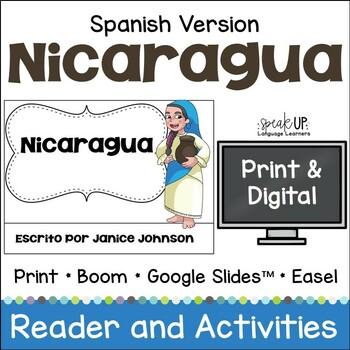 Nicaragua Reader {en español} & Vocab pages ~ Simplified for Language Learners
