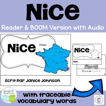 Nice, France Reader & Vocab work ~ Simplified for Language Learners