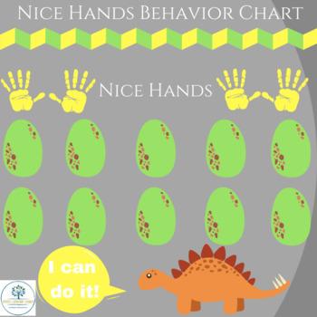 Nice Hands Behavior Token Board