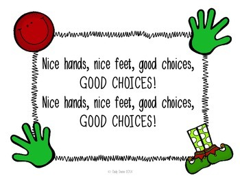 Social Stories for Autism: Nice Hands, Nice Feet, Good Choices