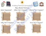 Nice Notes! History/Social Studies scaffolded notes graphi