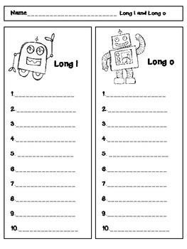 Nice Robot {Long i-Spelled i and Long o-Spelled o}