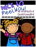 Nice To Meet You ABC's
