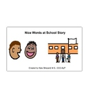 Nice Words at School Story - A Social Story about Curse Words