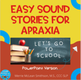 Nice and Easy Sound Stories: Let's Go to School   NO PREP